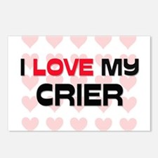 I Love My Crier Postcards (Package of 8)
