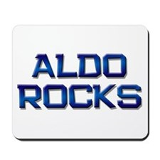 aldo rocks Mousepad