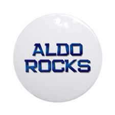 aldo rocks Ornament (Round)