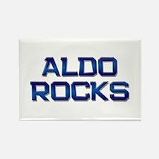 aldo rocks Rectangle Magnet