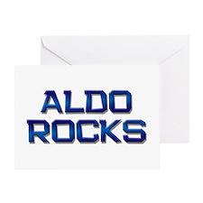 aldo rocks Greeting Card
