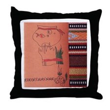 Norooz Mobarak Throw Pillow
