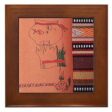 Norooz Mobarak Framed Tile