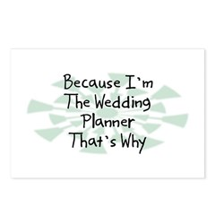 Because Wedding Planner Postcards (Package of 8)