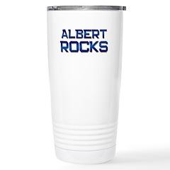 albert rocks Stainless Steel Travel Mug