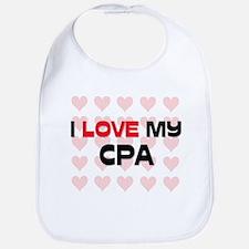 I Love My Cpa Bib