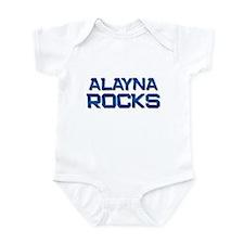 alayna rocks Infant Bodysuit