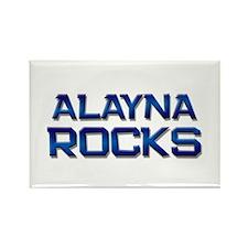 alayna rocks Rectangle Magnet