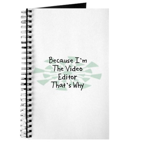 Because Video Editor Journal