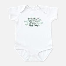 Because Urban Planner Infant Bodysuit