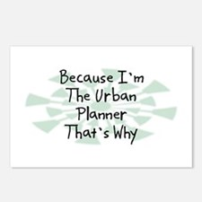 Because Urban Planner Postcards (Package of 8)