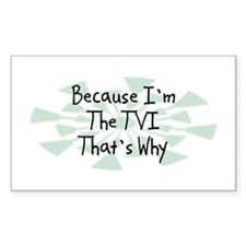 Because TVI Rectangle Decal