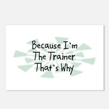 Because Trainer Postcards (Package of 8)