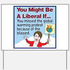 Nancy Pelosi Missed The Globa Yard Sign