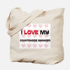 I Love My Countryside Manager Tote Bag