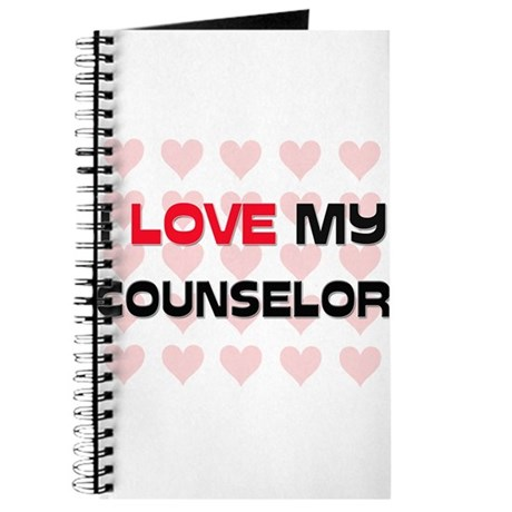 I Love My Counselor Journal