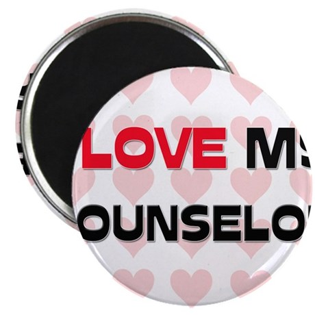 "I Love My Counselor 2.25"" Magnet (10 pack)"