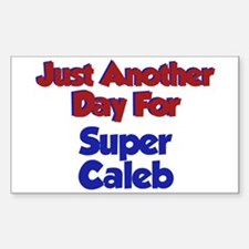 Caleb - Another Day Rectangle Decal