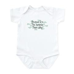 Because Surgeon Infant Bodysuit