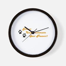 TIGERS Items Wall Clock
