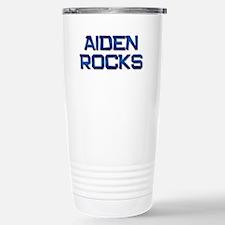 aiden rocks Stainless Steel Travel Mug