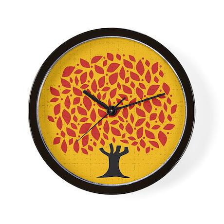 Fall Tree - Wall Clock