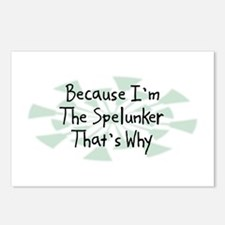 Because Spelunker Postcards (Package of 8)