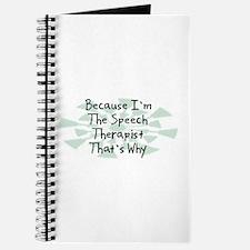 Because Speech Therapist Journal