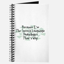 Because Speech Language Pathologist Journal