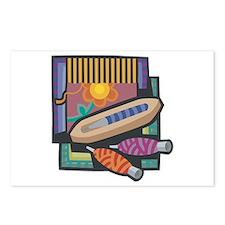 Weaving Postcards (Package of 8)