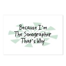 Because Sonographer Postcards (Package of 8)