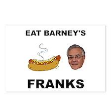 Eat Barney's Franks Postcards (Package of 8)