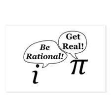 Cute Be rational Postcards (Package of 8)