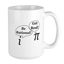 be.rational.get.real Mugs