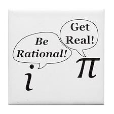 Cute Science humor Tile Coaster
