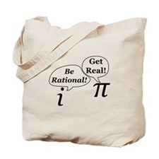 Cute Be rational Tote Bag