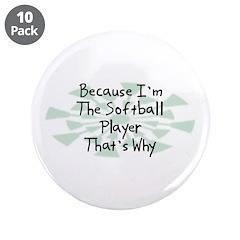 Because Softball Player 3.5