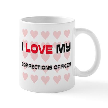 I Love My Corrections Officer Mug