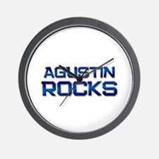 agustin rocks Wall Clock