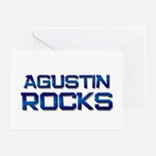 agustin rocks Greeting Card