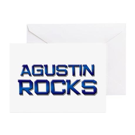 agustin rocks Greeting Cards (Pk of 20)