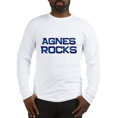 agnes rocks Long Sleeve T-Shirt