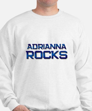 adrianna rocks Sweater