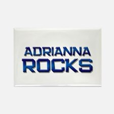 adrianna rocks Rectangle Magnet