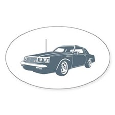 1987 Buick GNX Oval Decal