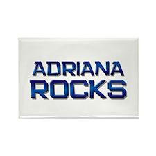 adriana rocks Rectangle Magnet
