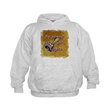 """My Mommy Plays With Badgers! Hoodie"