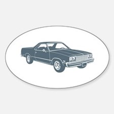 1977 Chevrolet El Camino Oval Decal