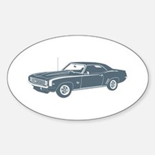 1969 Chevrolet Camaro SS Oval Decal