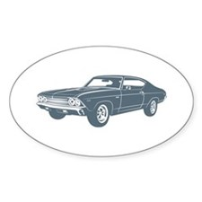 1969 Chevrolet Chevelle 396 S Oval Decal
